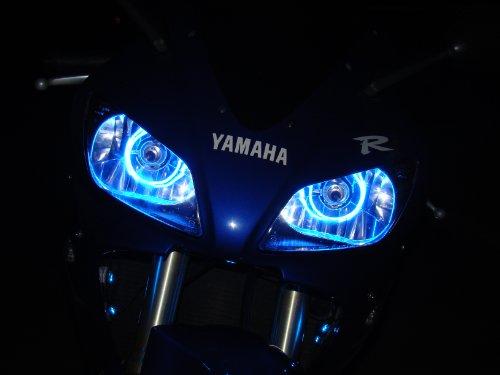 Suzuki GSXR 1300 Hayabusa 94-97-00-02-04-07-08-09-10-11-12-13 CCFL Halo Angel Demon Eyes