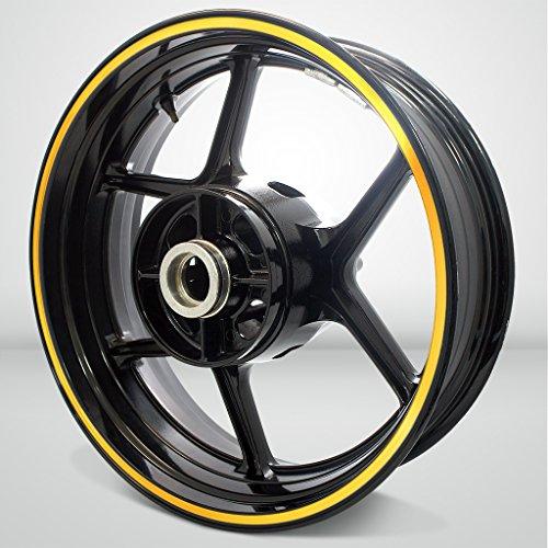 Thick Outer Rim Liner Stripe for Suzuki GSXR 1300 Hayabusa Reflective Yellow