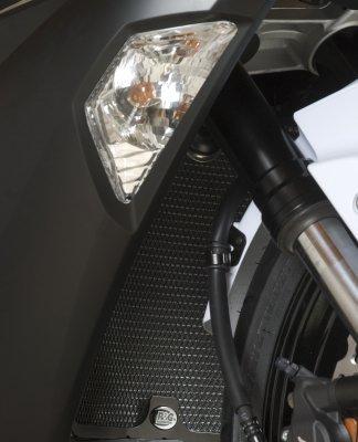 R&G Radiator Guard BLACK - Kawasaki ZX6-R 13-