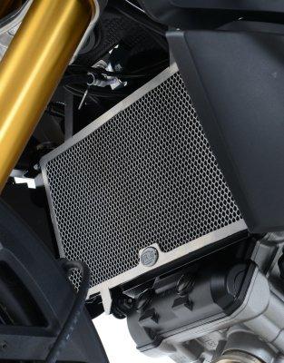 R&G Radiator Guard - BLACK - Suzuki 1000 V-Strom 14-