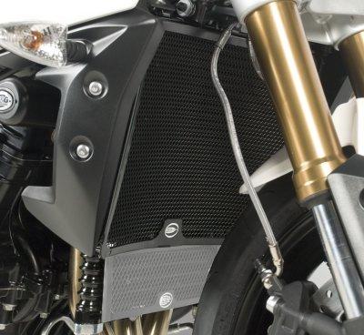 R&G Radiator Guard BLACK - Triumph Speed Triple 11