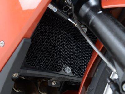 R&G Radiator Guard Black For BMW F650GS 08-12 F700GS 13-14 F800R 09-13 F800S 06-10 F800GT 13-14 F800ST 06-13 RAD0082BK