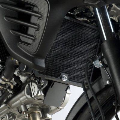R&G Radiator Guards for Suzuki V-Strom 650 2012 model RAD0112BK