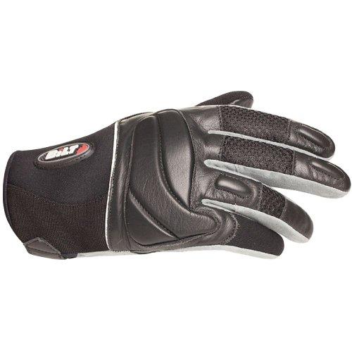 BILT Blazer LeatherMesh Motorcycle Gloves - XL Black