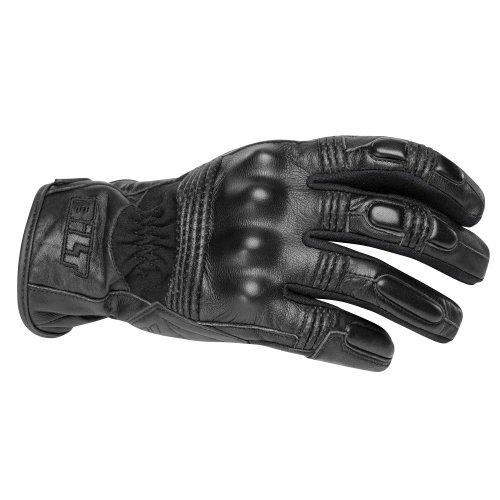 CUSTOM BILT Interstate Leather Motorcycle Gloves - XL Black