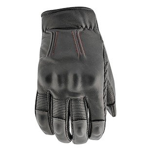 STREET STEEL Westwood Leather Motorcycle Gloves - XL Black