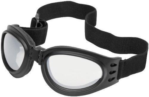 River Road Adventure Goggles - Black w Clear