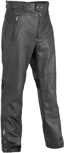 River Road Bravado Leather Overpants  Distinct Name Black Primary Color Black Apparel Material Leather Size 34 Gender MensUnisex XF-09-3613