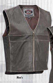 River Road Drifter Vintage Leather Vest