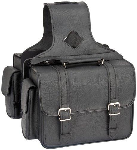 River Road Zip-Off Box Compact Saddlebags Classic Black