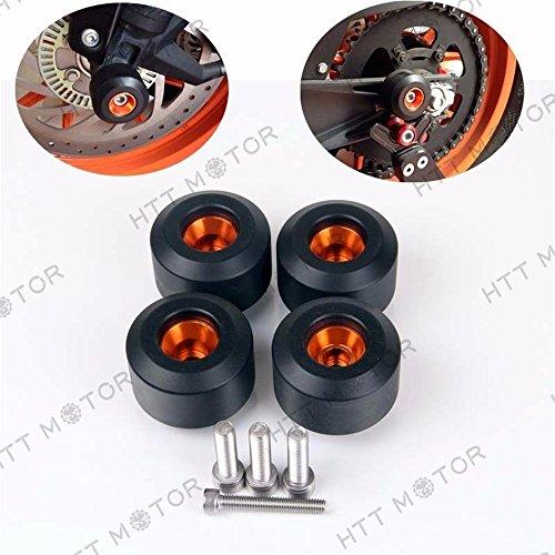 HTTMT- Slider Frame Front Rear Fork Wheel Crash Protector For KTM RC 125 200 390 Duke