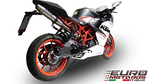KTM RC 390 GPR Exhaust Deeptone Slipon Silencer Racing High Mount