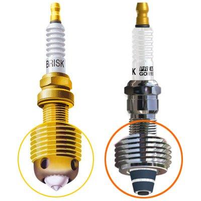 PERFORMANCE SPARK PLUG KTM 640 Supermoto -2012-2005  HFR68BR12ZCRTU
