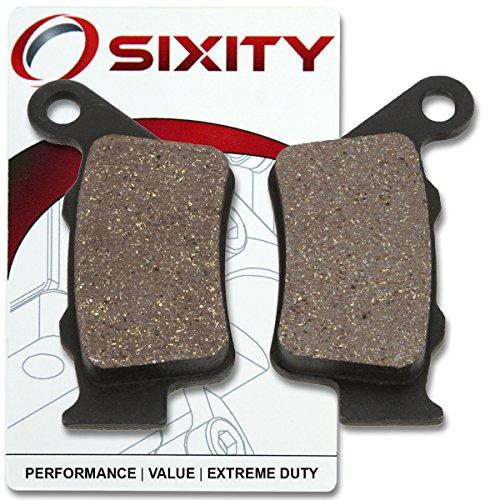 Sixity Rear Ceramic Brake Pads 2000-2004 KTM 640 Supermoto Set Full Kit LC4-E Complete