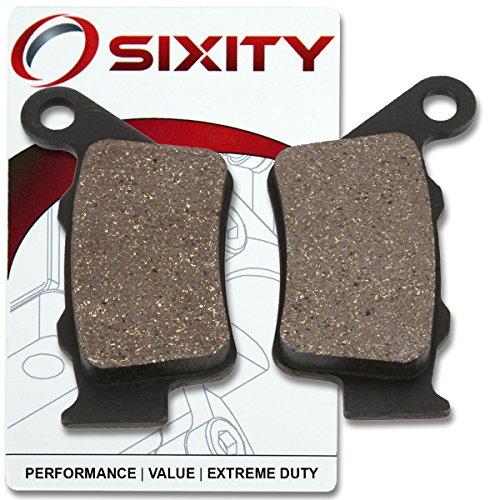 Sixity Rear Organic Brake Pads 2000-2004 KTM 640 Supermoto Set Full Kit LC4-E Complete