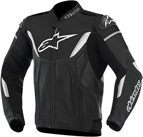 Alpinestars GP-R Leather Mens Riding Jacket BlackWhite Size 50