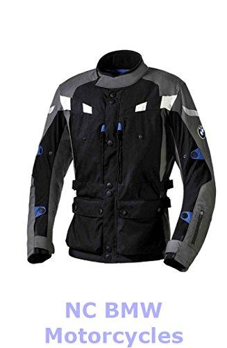 BMW Genuine Motorcycle Men GS Dry Riding Jacket Black  Anthracite Size 60
