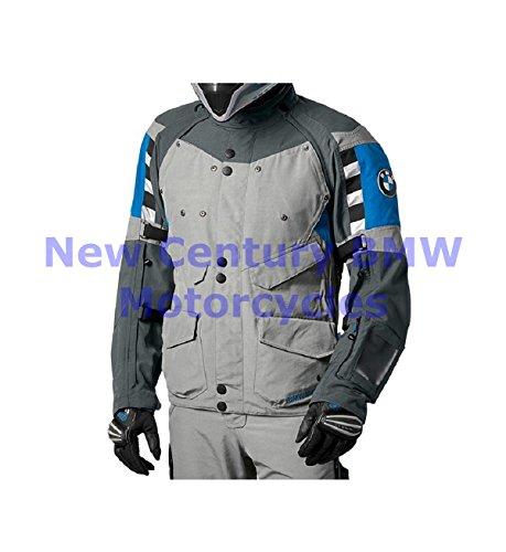 BMW Genuine Motorcycle Men Rallye Riding Jacket GreyBlue US 54 Euro 64