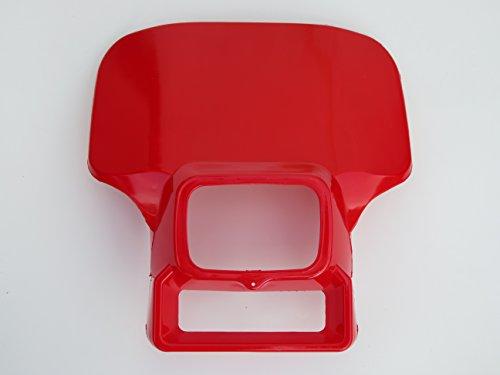 Red Honda Xr250 Xr350 Xr500 Xr600 Xr 250 350 500 600 Headlight cover