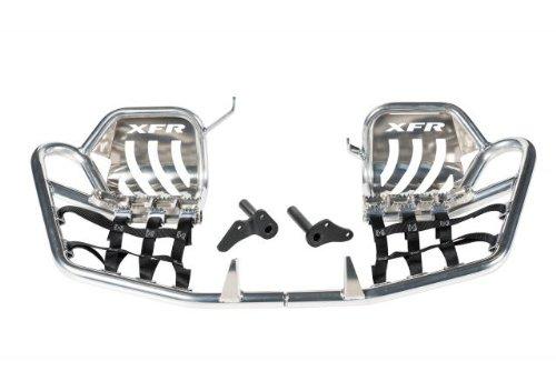 XFR Pro-Series II Foot Peg Nerf Bars W Heel Guards Honda TRX400EX 400EX 1999-2007