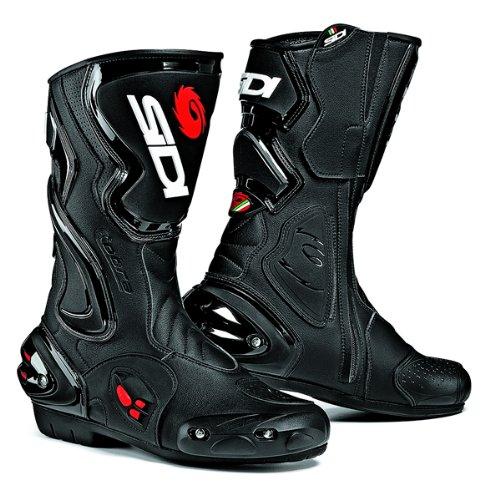 New 2015 Sidi Cobra Black Motorcycle Boots