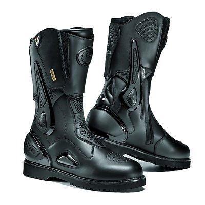 Sidi Armada Gore Black Motorcycle Boots