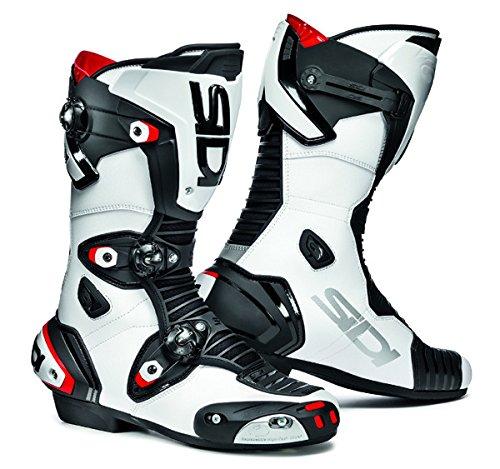 Sidi Mag 1 WhiteBlack Motorcycle Boots