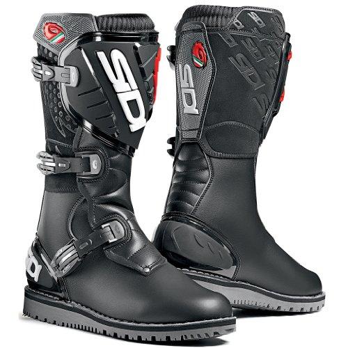 Sidi Trial Zero Black Motorcycle Boots