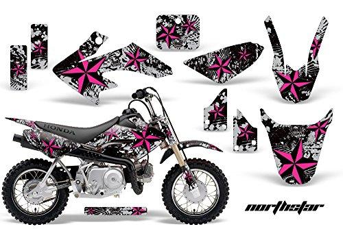 HONDA CRF50 2004-2013 MX Dirt Bike Graphic Kit Sticker Decals CR 50 NORTHSTAR PINK