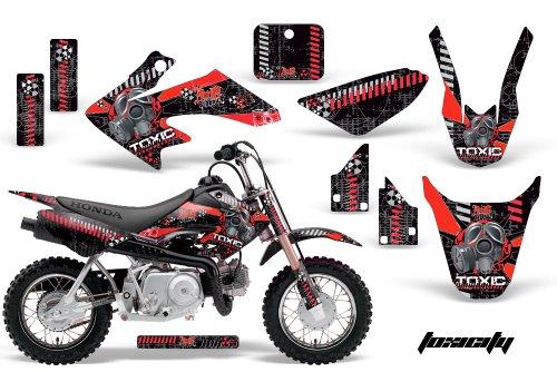 HONDA CRF50 2004-2013 MX Dirt Bike Graphic Kit Sticker Decals CR 50 TOXIC RED
