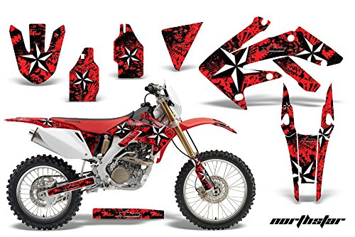 Honda CRF250X 2004-2016 MX Dirt Bike Graphic Kit Sticker Decals CRF 250 X NORTHSTAR RED
