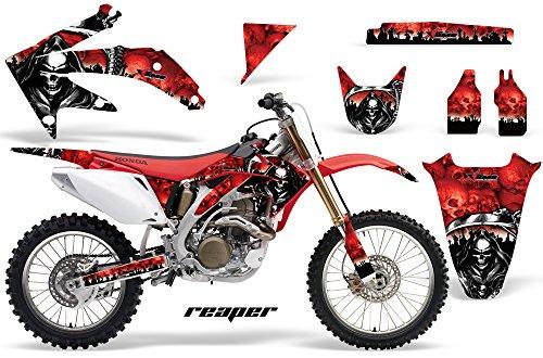 Honda CRF450R 2005-2008 MX Dirt Bike Graphic Kit Sticker Decals CRF 450 R REAPER RED