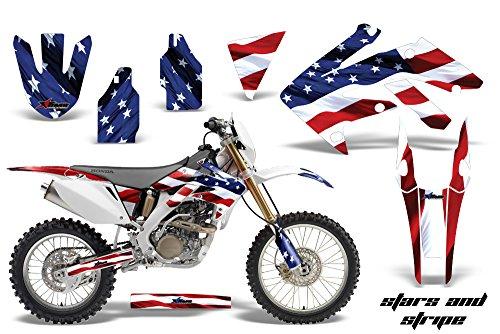 Honda CRF250X 2004-2016 MX Dirt Bike Graphic Kit Sticker Decals CRF 250 X STARS STRIPES