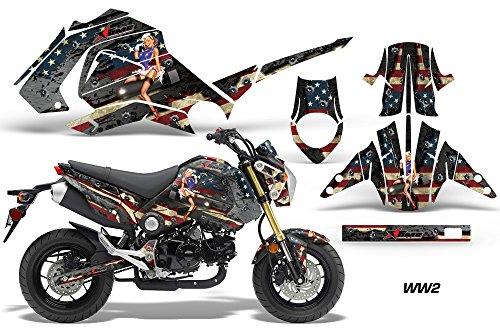 Honda GROM125 2013-2015 MX Dirt Bike Graphic Kit Sticker Decals GROM 125 WW2