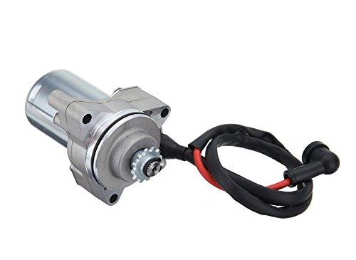 ATV Electric starter Motor 3 Bolt Top Mount Starter for 4 Stroke engine ATVs and 50cc 70cc 90cc 110cc 125cc Engine GoShopMode