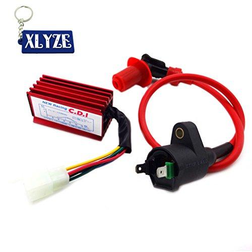 XLYZE Racing Ignition Coil 5 Pin AC CDI for Honda XR CRF 50 110cc 125cc Engine Dirt Pit Bike