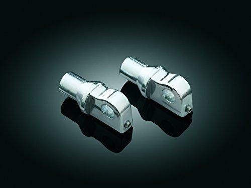 Kuryakyn 8008A Harley Type Male Footpeg Adapters With Adjustable Stop