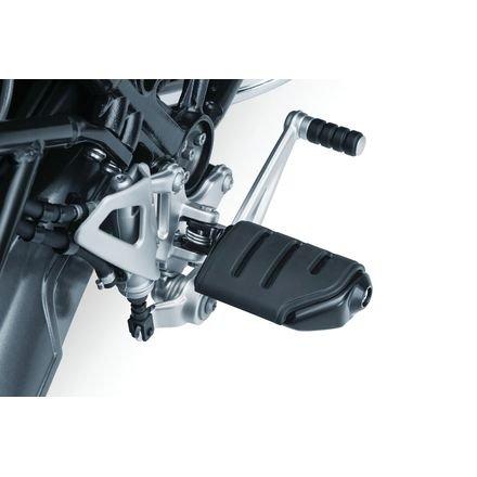 Kuryakyn 8873 Footpeg Adapters - Tapered - Satin Black