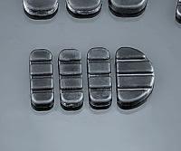 Kuryakyn ISO Brake Pedal Replacement Pads - Standard Longhorn FX