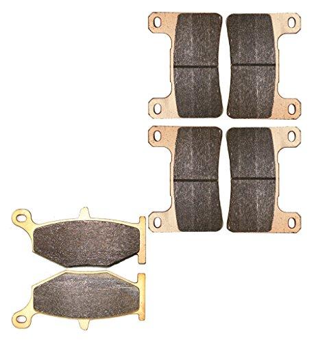 CNBK Sinter H-H Brake Shoe Pads Set fit SUZUKI Street Bike GSX-R600 GSXR600 GSXR GSX R GSX-R 600 cc 600cc K6 K7 Radcal 2006 2007 06 07 6 Pads