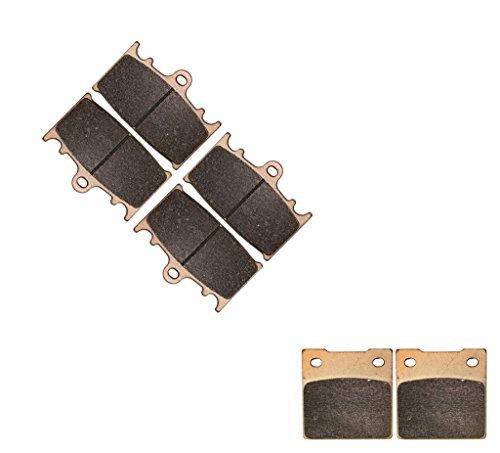 CNBK Sintered HH Brake Pads Set fit SUZUKI Street Bike GSX-R600 GSXR600 GSXR GSX R GSX-R 600 cc 600cc 2001 2002 2003 01 02 03 6 Pads