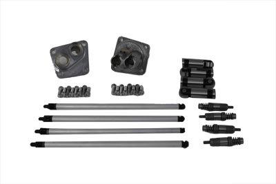 V-Twin 11-0591 - Hydraulic Tappet Block Kit Zinc Finish