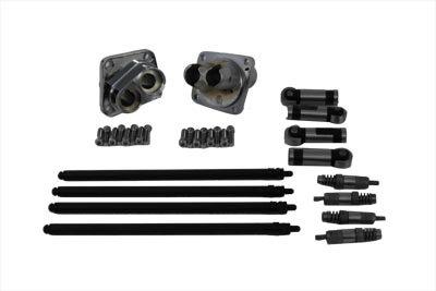 V-Twin 11-0592 - Hydraulic Tappet Block Kit Chrome Finish