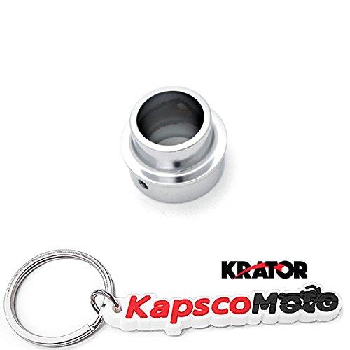 Krator 2000-2007 Yamaha TT-R90  TT-R90E Dirt Bike Exhaust Tip Muffler Power Outlet Polished Chrome  KapscoMoto Keychain