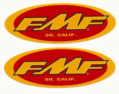 FMF Racing Decals Stickers Set of 2 Dirt Bike Motorcycles Supercross Motocross ATV