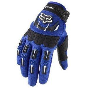 Fox Racing Dirtpaw Mens Off-RoadDirt Bike Motorcycle Gloves - Color blue Size Medium
