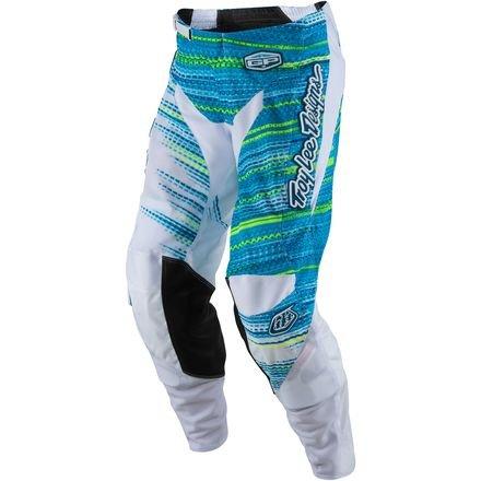 Troy Lee Designs GP Air Electro Mens Dirt Bike Motorcycle Pants - White 36