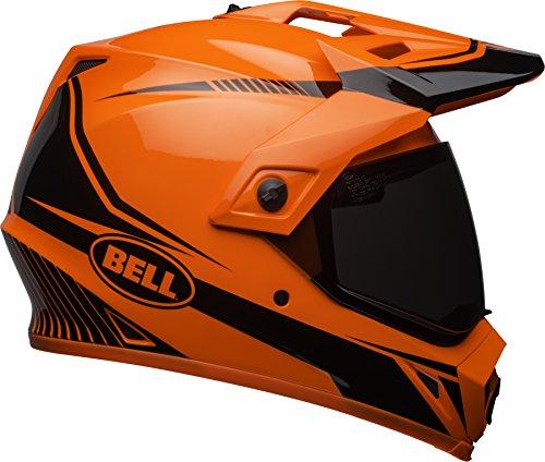 Bell MX-9 Adventure MIPS Offroad Helmet - Gloss Torch Orange  Black - X-Small