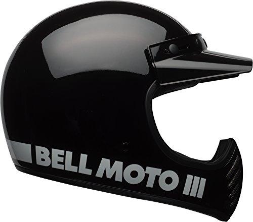 Bell Moto 3 Helmet - Classic Black - Large