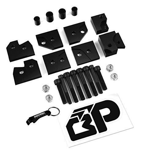 BlackPath - Honda 2 Lift Kit TRX500 Freman with IRS ATV Suspension Lift Black T6 Billet